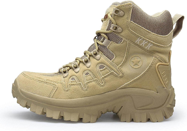 AONEGOLD Hommes Bottes de Randonn/ée Tactiques Militaires de Combat Bottes Chaussures de Trekking ext/érieures Respirantes Antid/érapant