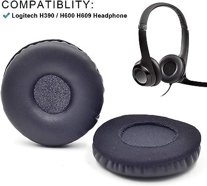 coussinets d'oreille pour casque logitech modele h600