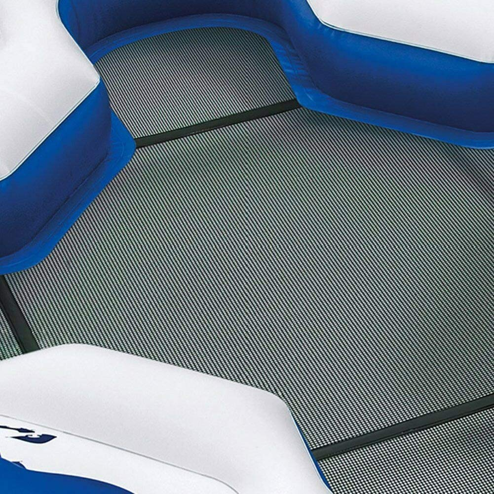Intex Pacific Paradise 4-Person Relaxation Station Water Lounge River Tube Raft by Intex (Image #3)