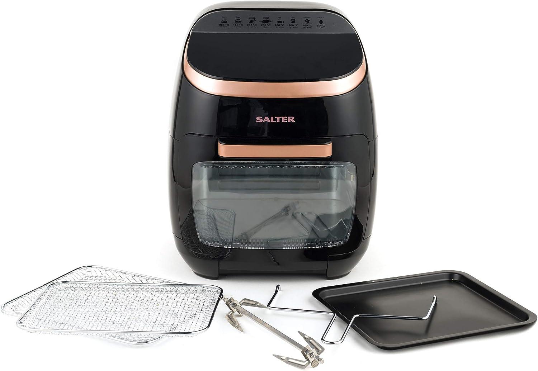 Salter EK3662RG Aerocook Pro XL, 2000 W, 11 Litre, Black/Rose Gold, 38cm x 36cm x 43.5cm Rose Gold/Black