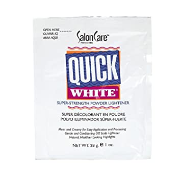 Amazon Com Quick White Powder Lightener Packette Hair