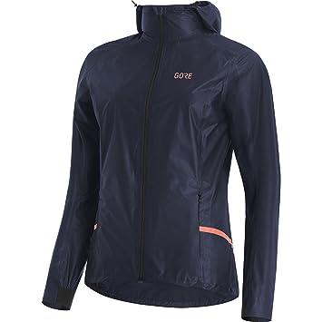 GORE Wear Chaqueta impermeable con capucha de running para mujer, R7 Women GORE-TEX