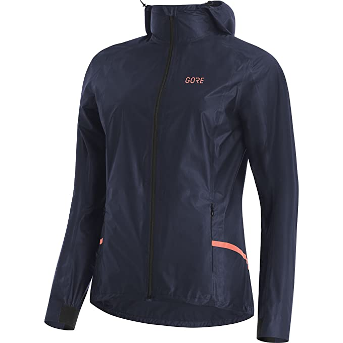 Gore Wear, Mujer, Chaqueta Impermeable con Capucha para ...