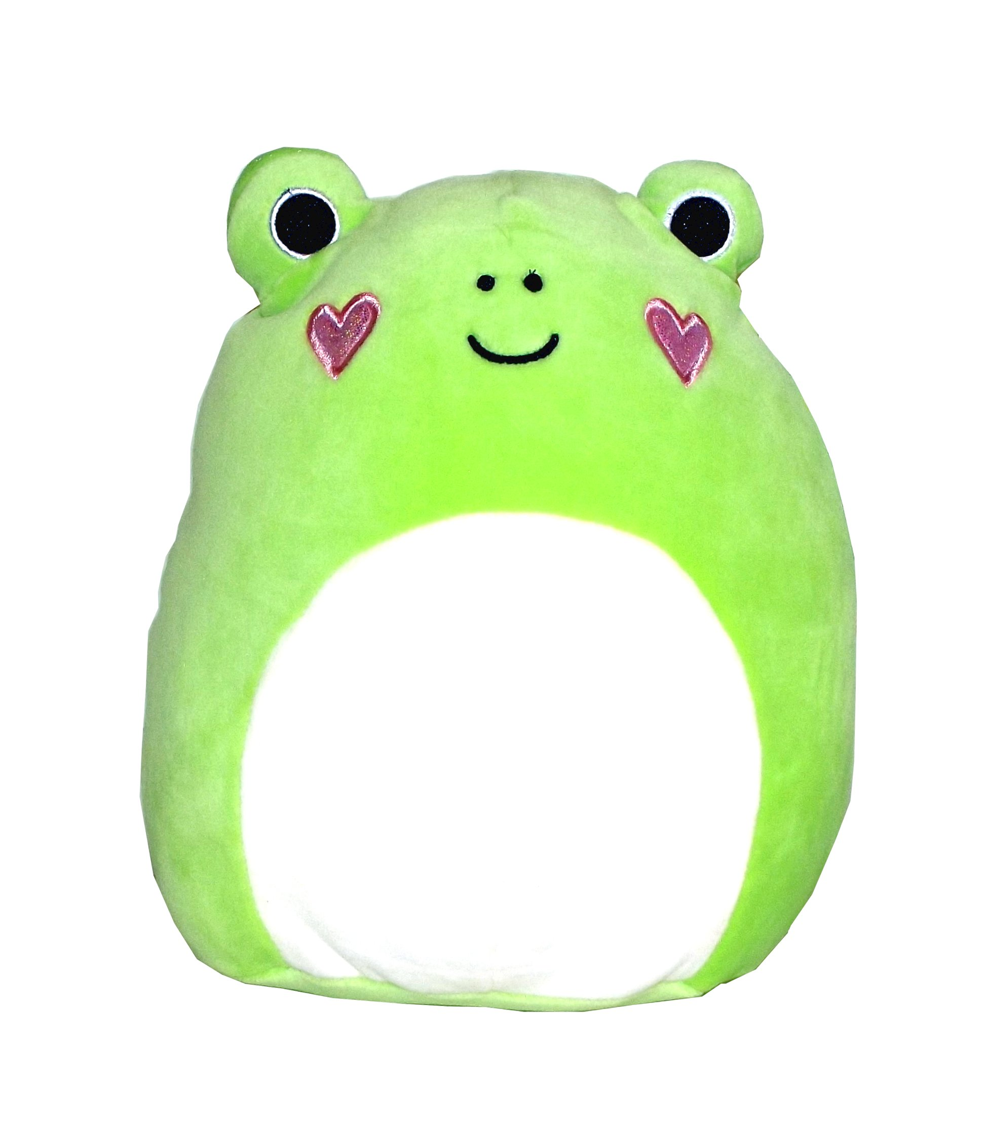 Kellytoy Squishmallows Valentine's Day Themed Pillow Plush Toy (Frog, 9 inches)