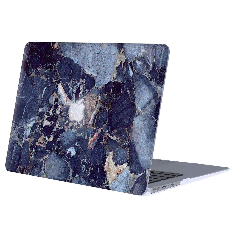 MOSISO Funda Dura Compatible MacBook Air 13 Pulgadas Ultra Delgado Carcasa R/ígida Protector de Patr/ón de Pl/ástico Cubierta M/ármol Verde Blanco A1369 // A1466, Versi/ón 2010-2017
