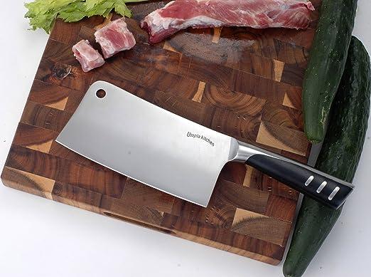 亚马逊选择!销量第一的不锈钢菜刀! 适合华人厨房!