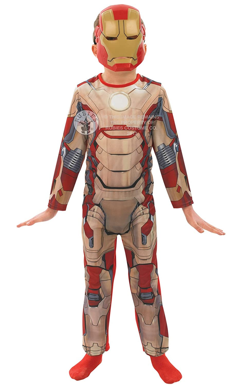 Iron Man 3 Dress Up Outfit - 3 - 4 Years : Amazon co uk: Toys & Games