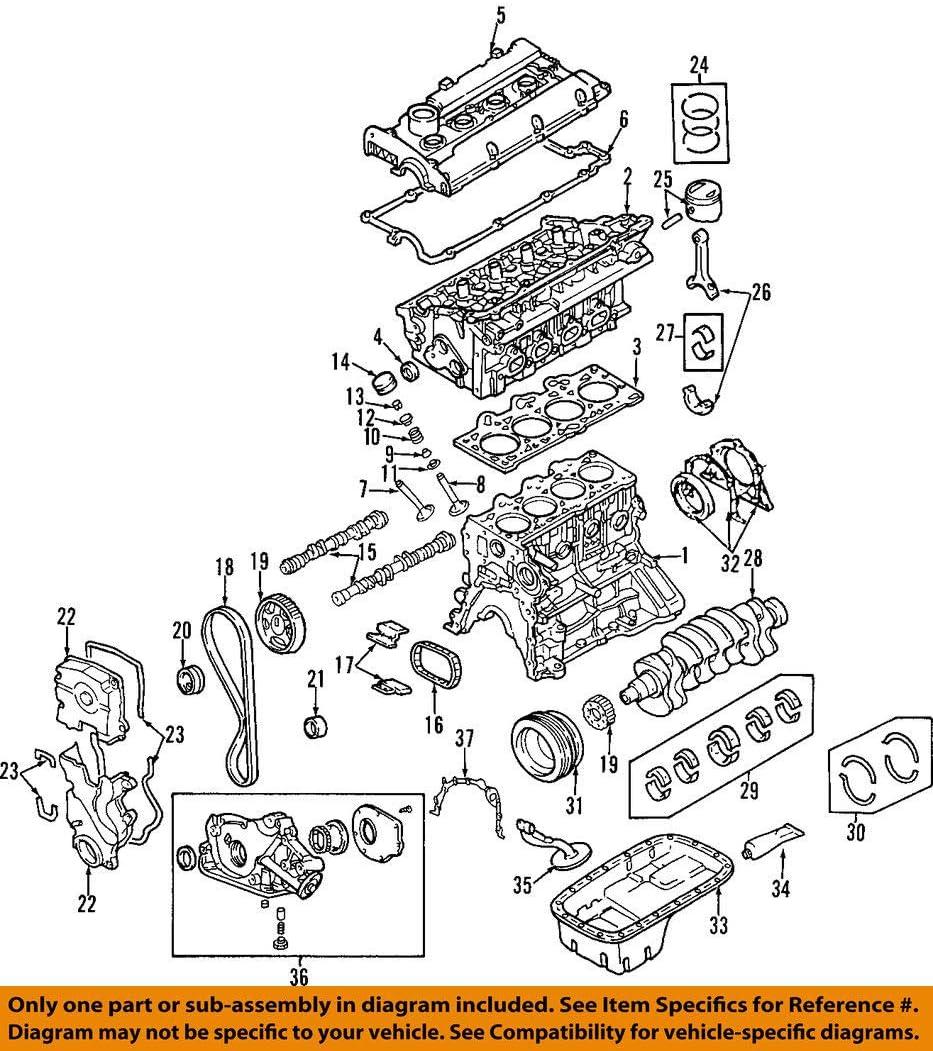 Genuine Hyundai 22441-3C110 Rocker Cover Gasket Right