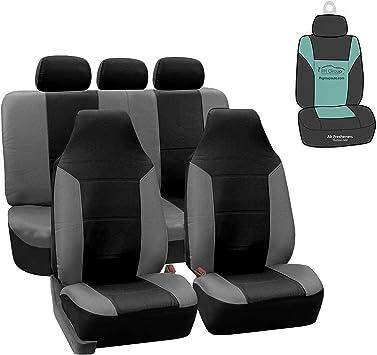 CAR SEAT COVERS full set fit Kia Soul charcoal grey