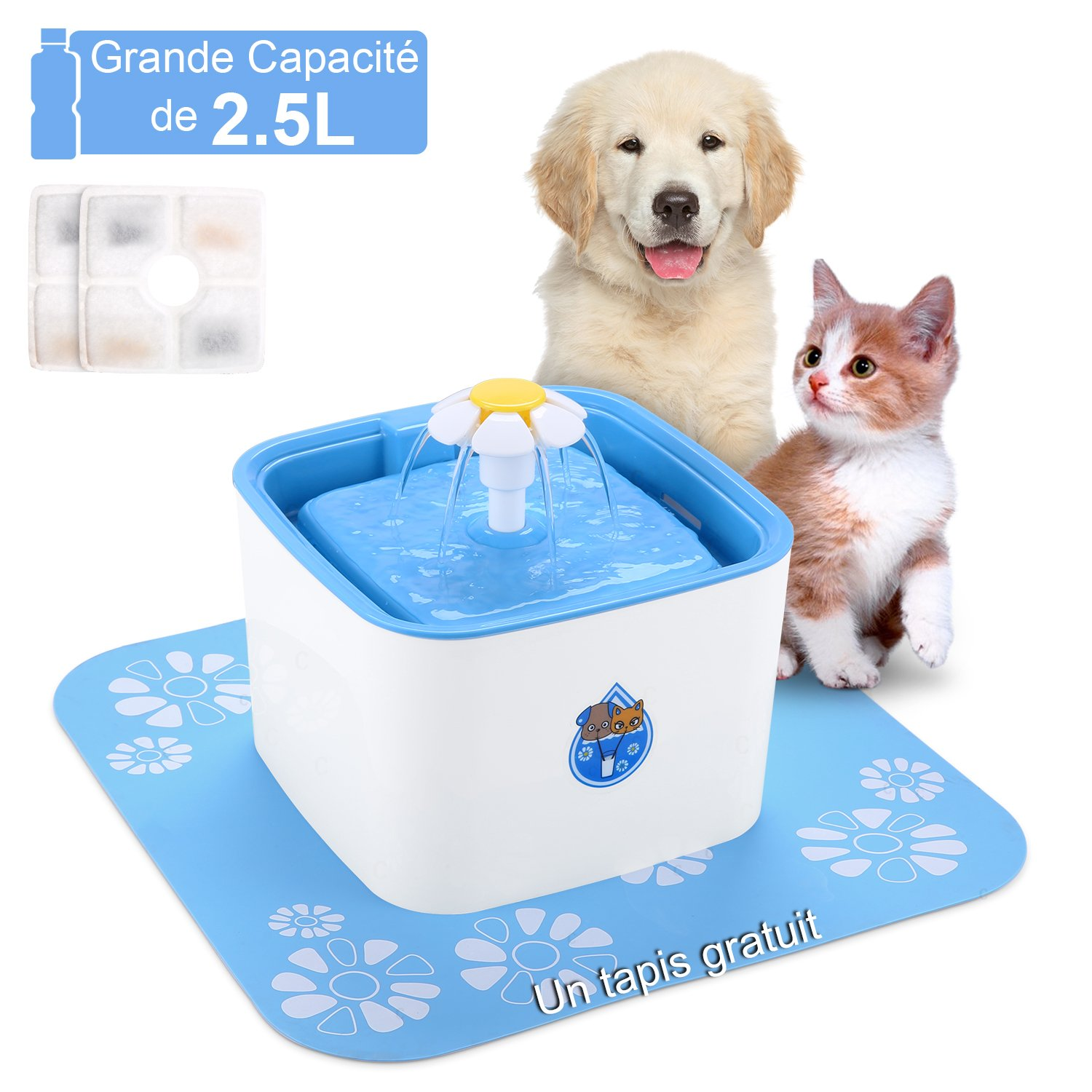 Dishes, Feeders & Fountains Pet Supplies Filtres Pour Fontaine à Eau Petsafe Drinkwell Chien Chat Animal Animaux Lot X10 Buy One Get One Free