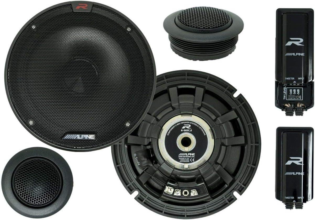 阿尔卑斯R-S65C 2-Way组件扬声器