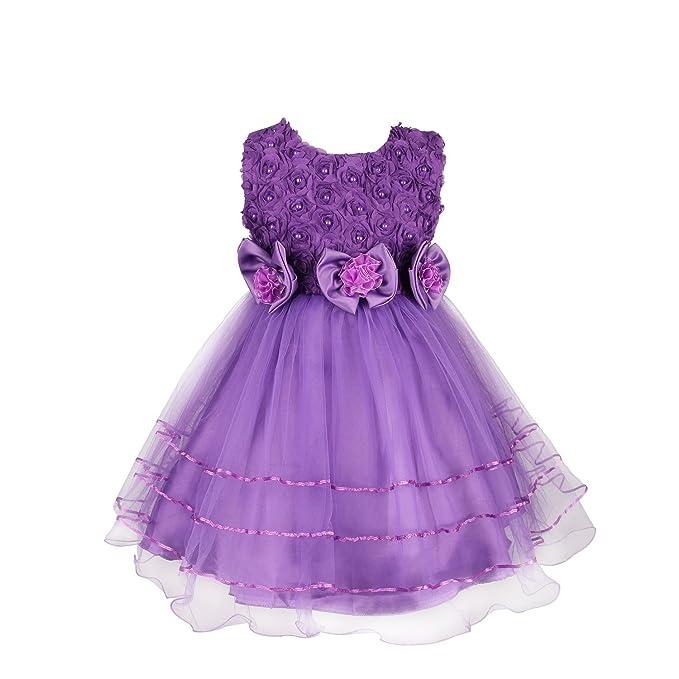 discoball - Vestido - para niña morado morado 1- años
