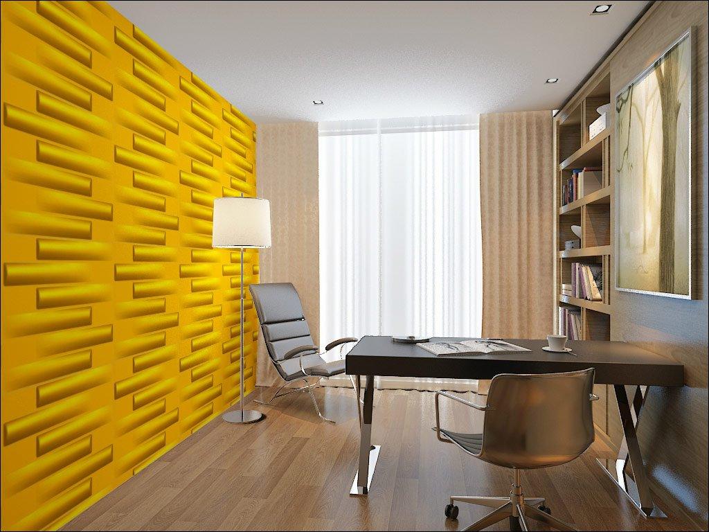 Wood 3D Wall Panels 50 x 50 cm 6 m²: Amazon.co.uk: DIY & Tools
