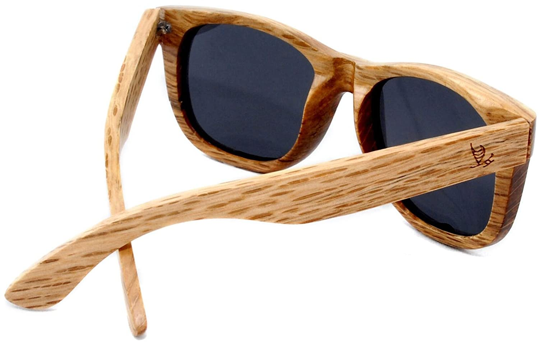 3e27d832c907 Amazon.com  Maka Wear Wood Sunglasses - Coronado Wayfarer Style Polarized Duwood  Sunglasses  Sports   Outdoors