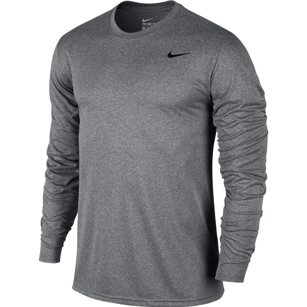 29b1ffcd4de939 Galleon - Nike Mens Legend 2.0 Long Sleeve Dri-Fit Training Shirt Carbon  Heather/Black 718837-091 Size X-Large