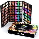 Tefamore Paleta De Sombra De Ojos 120 Colores De Polvos Cosméticos En Maquillaje Conjunto De Mate Disponible(Popfeel )