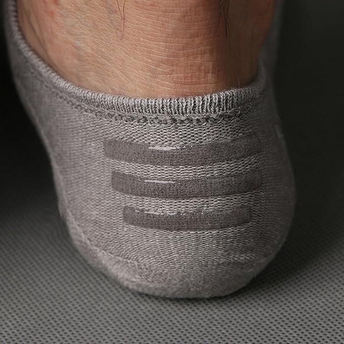 Antideslizante Ueither Calcetines Cortos Sneaker de Deporte Respirable Calcetines Invisibles Hombre Algod/ón Low Cut Barco Calcetines del Tobillo