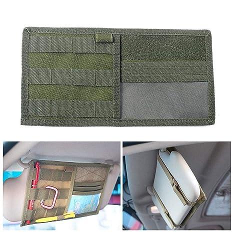 Tactical MOLLE LKW Auto Sonnenblende Tasche Fahrzeug Panel Aufbewahrungstasche