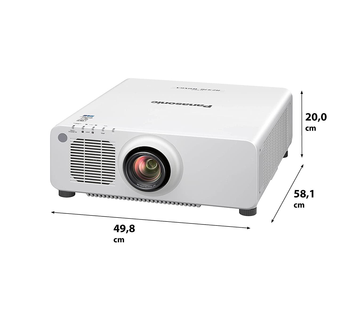 Panasonic PT-RZ770WE Video - Proyector (7200 lúmenes ANSI, DLP ...