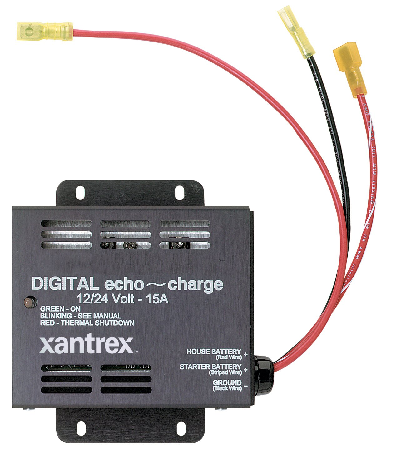 amazon com xantrex 82 0123 01 echo charge for 12 and 24v systems amazon com xantrex 82 0123 01 echo charge for 12 and 24v systems xantrex cell phones accessories