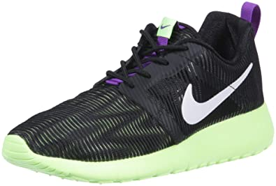 c2fa5634fa37c Nike Rosherun Flight weight-705486-003 (6Y) Black Green
