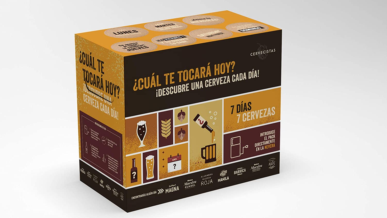 Mahou Cervecistas - Caja con 7 cervezas diferentes - San Miguel ...