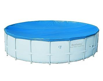 Bestway - Cubierta de invierno para piscina desmontable 555cm Bestway: Amazon.es: Jardín
