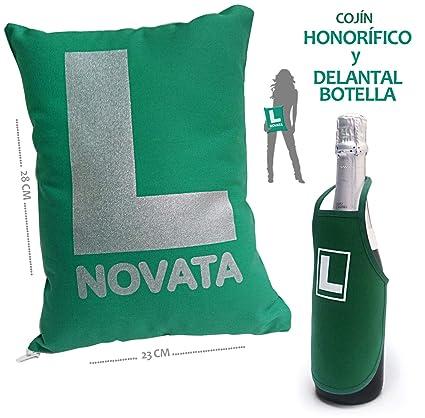 Amazon.es: Inedit Festa - Novata Conductora Novel Cojín ...