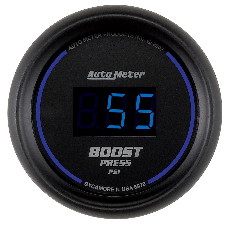 Auto Meter 6970 Cobalt Digital Boost Gauge AutoMeter