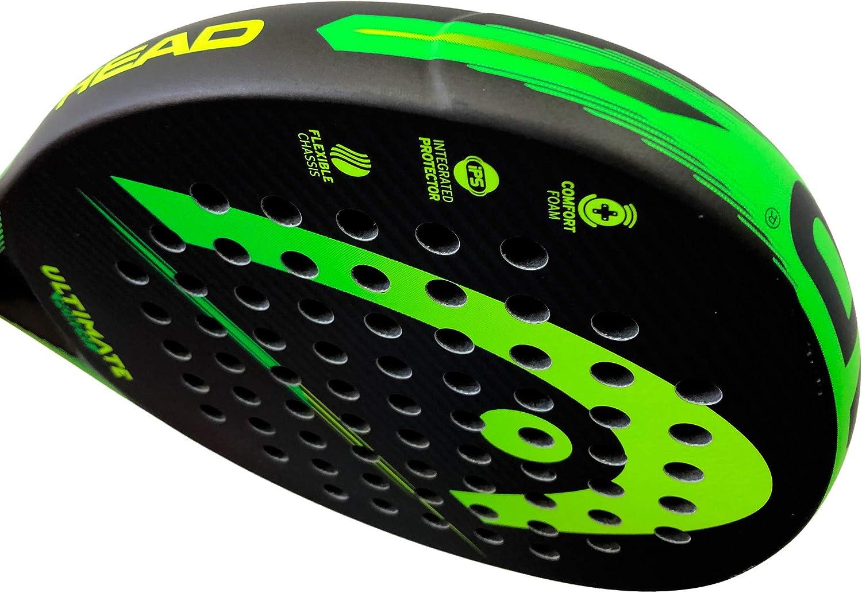 Head Pala de Padel Ultimate Power 2 Green/Yellow: Amazon.es ...