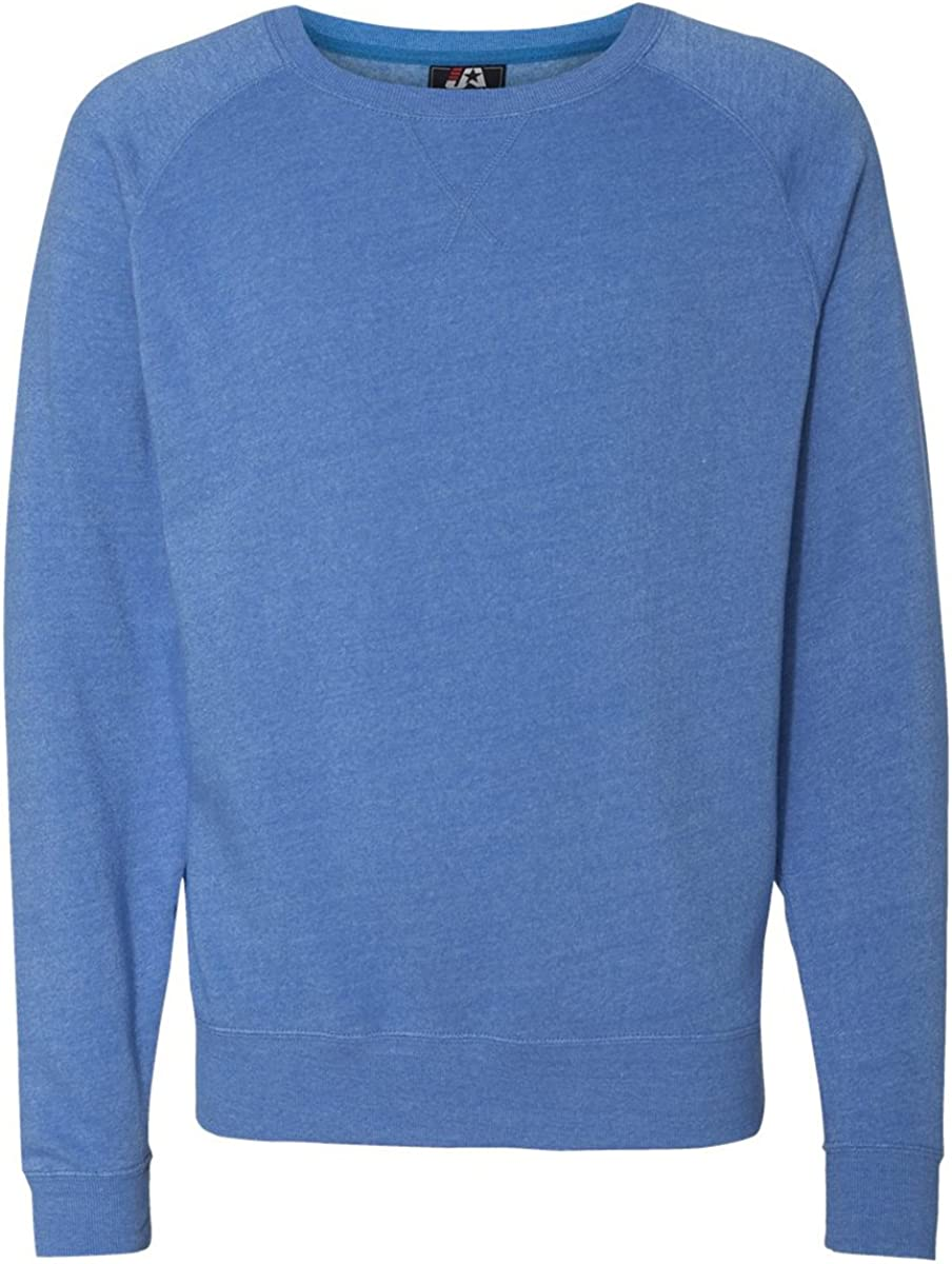 Royal Triblend J America Triblend Crewneck Sweatshirt