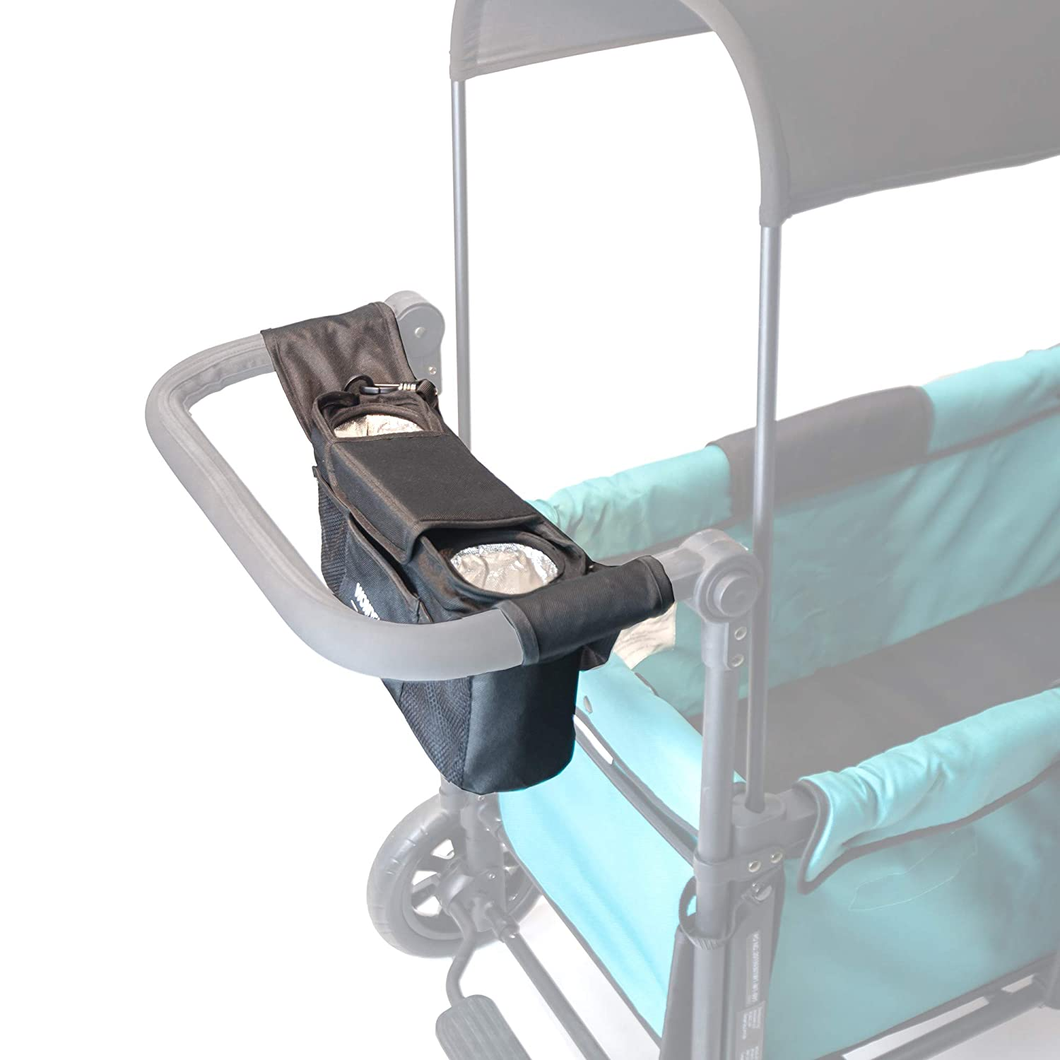 WonderFold Universal Parent Console with 2 Insulated Cup Holders