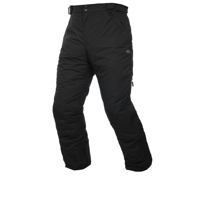 Uomo Ghette e Laterali per la Ventilazione /Giacca da Sci Impermeabile Bezzy Pantaloni con Cerniere alla Caviglia Trespass/