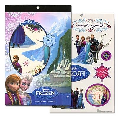 Disney Frozen 4 Sheet Tattoo Book: Toys & Games