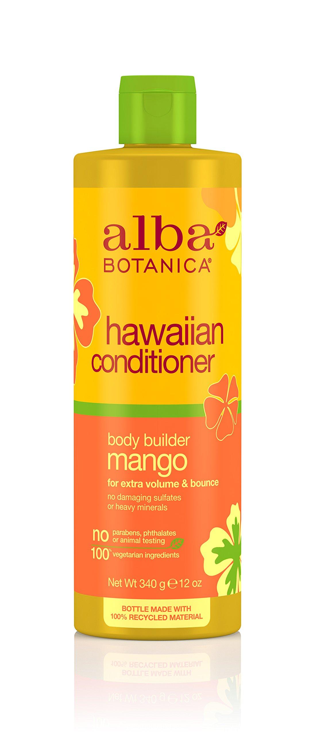 Alba Botanica Natural Hawaiian Shampoo Body Builder Mango