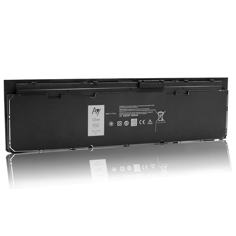 Compatible P//N VFV59 KWFFN GD076 GVD76 J31N7 451-BBFW 451-BBFX HJ8KP NCVF0 7.6V // 52WH DELL E7240 Battery Latitude E7250 AY High-Performance Replacement Laptop Battery for Dell Latitude E7240