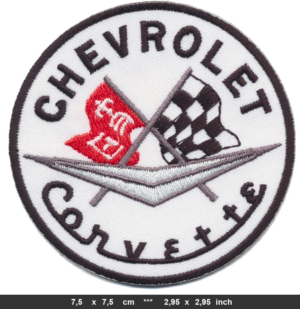 Corvette Parche para Planchar con dise/ño de Coche Deportivo de la pel/ícula Chevrolet