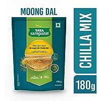 Tata Sampann Moong Dal Chilla Mix, 180g