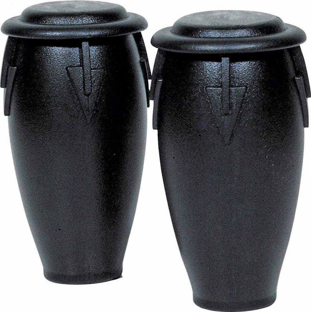 Latin Percussion LP201-BK Plastic Conga Shakers Black Bag Of 36