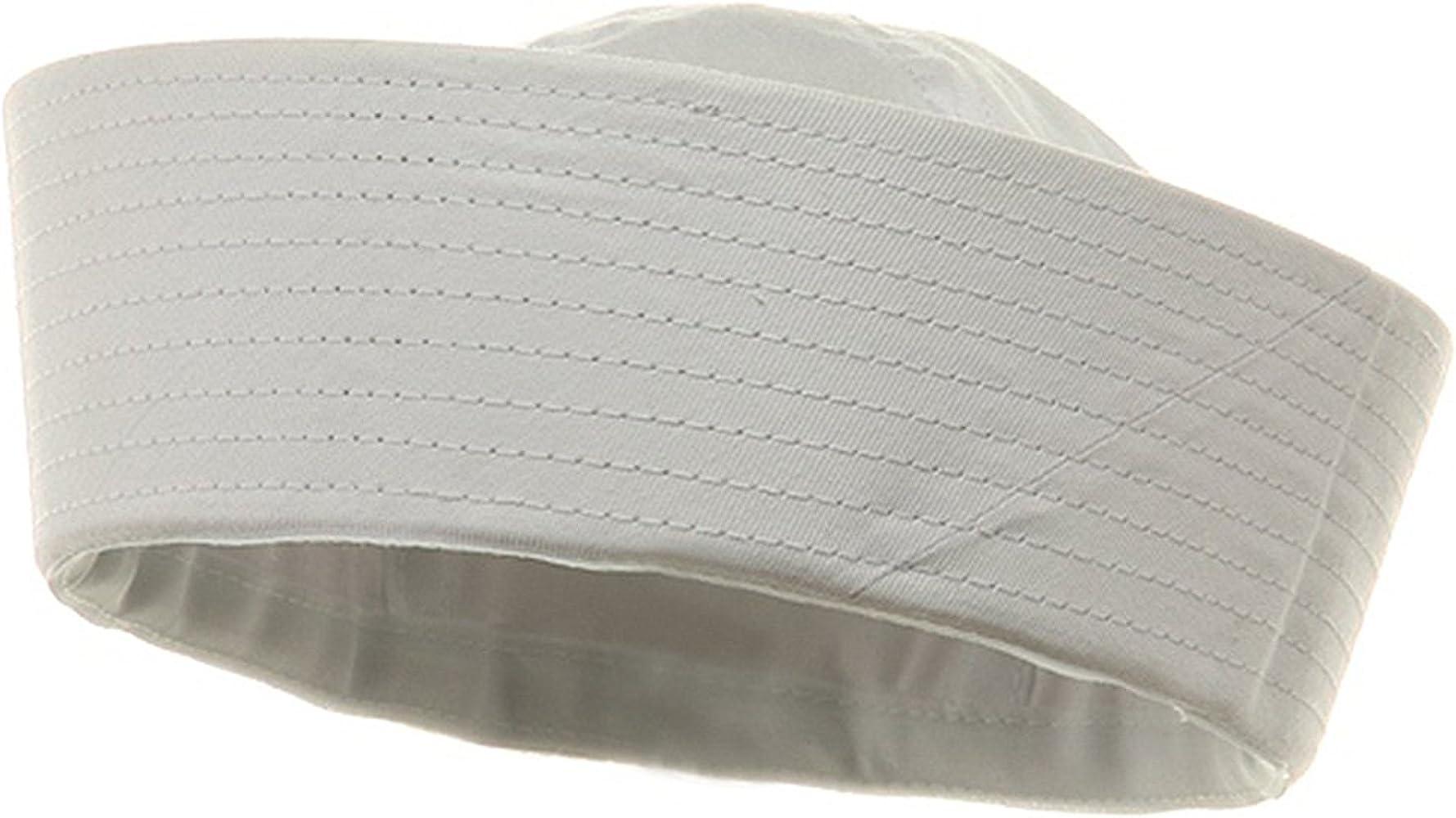 Genuine Issue GI White Military US Navy Cotton GOB Sailor Hat