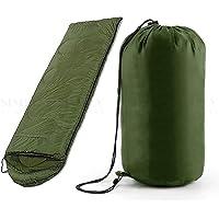 Sleeping Bag Single Outdoor Camping Compact Winter Sheet Sack Hiking Envelope