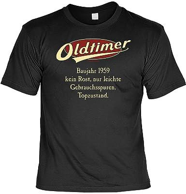 T Shirt Oldtimer Baujahr 1959 Lustiges Sprüche Shirt Als Geschenk Zum 59 Geburtstag