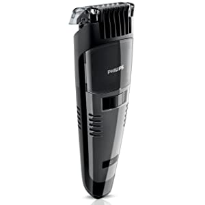 Philips QT4050 Turbovac Rechargeable Vacuum Beard Trimmer