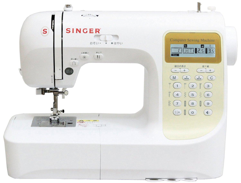 文字縫い搭載機能付きのコンピューターミシン