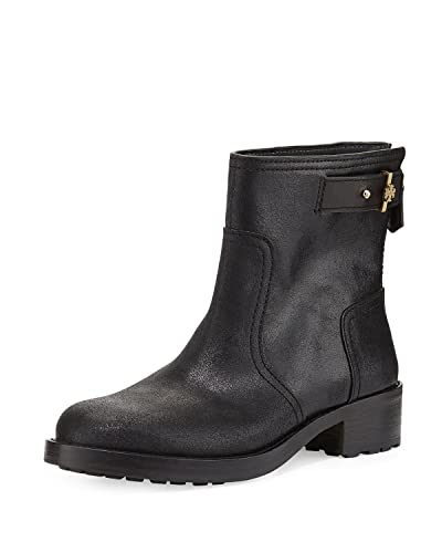 Boots for Women, Booties On Sale, Black, Leather, 2017, 8.5 Tory Burch