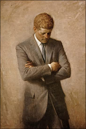 john f kennedy official white house portrait 24quotx36quot amazoncom white house oval office