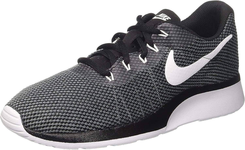 Nike Tanjun Racer, Chaussures de Fitness Homme Gris Dark Grey White Black 002