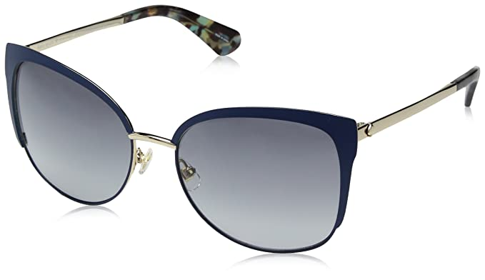 07cb87d156b7c Image Unavailable. Image not available for. Color  Kate Spade Women s Genice s  Cateye Sunglasses ...