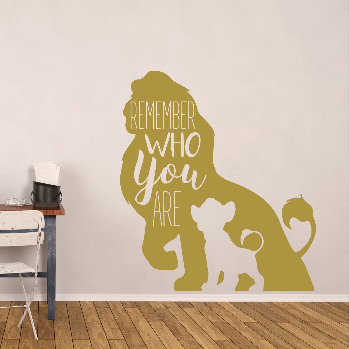 Amazon.com: Simba Wall Decor - Disney The Lion King Decor- Remember ...