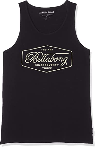 BILLABONG Trademark Tank Camiseta sin Mangas para Hombre: Amazon ...